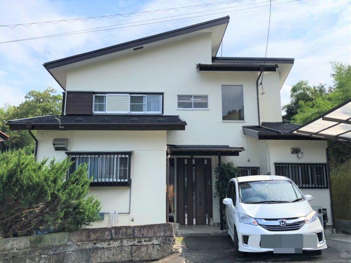 栃木県鹿沼市 H様邸 屋根外壁塗装工事