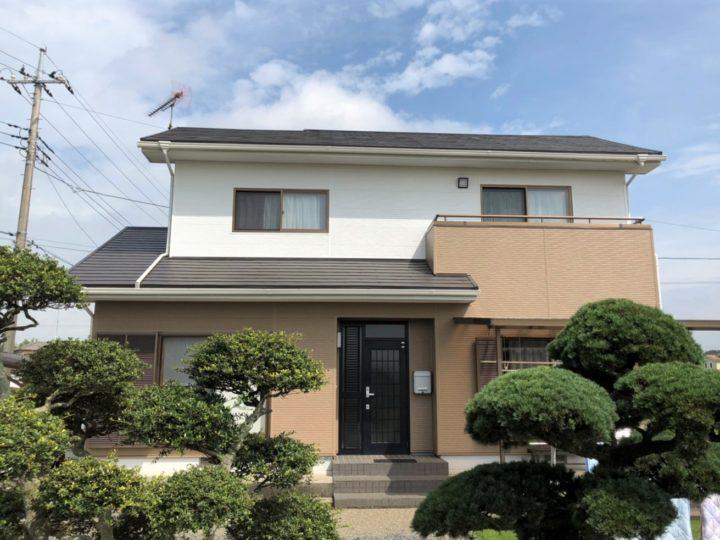 栃木県真岡市 A様邸 屋根カバー・外壁カバー・付帯部塗装工事