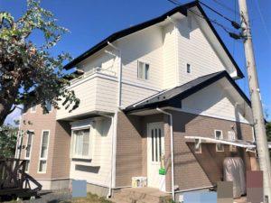 栃木県さくら市 M様邸 屋根外壁塗装工事