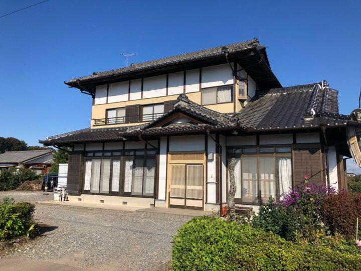 栃木県下都賀郡 K様邸 外壁塗装