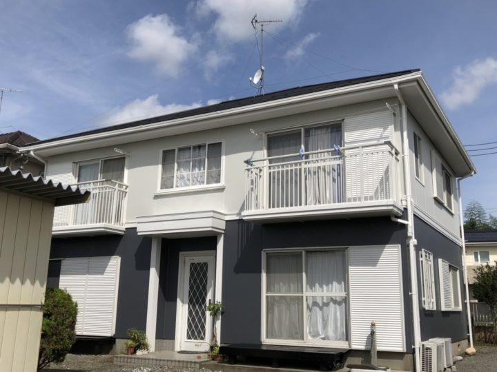 栃木県宇都宮市 屋根カバー・外壁塗装工事