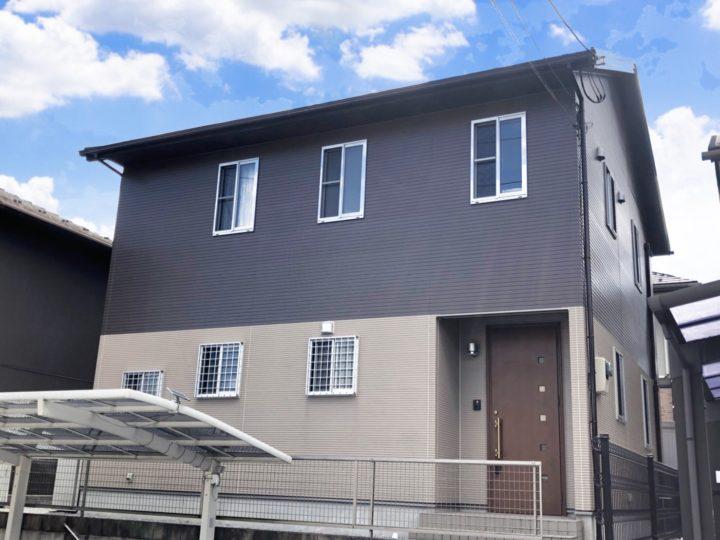 栃木県宇都宮市 I様邸 屋根外壁塗装工事