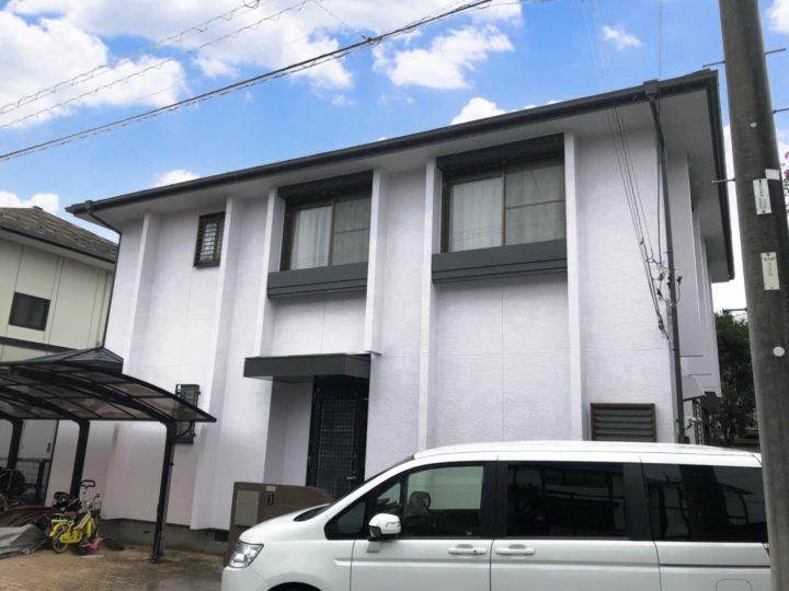 栃木県下野市 K様邸 屋根外壁塗装工事