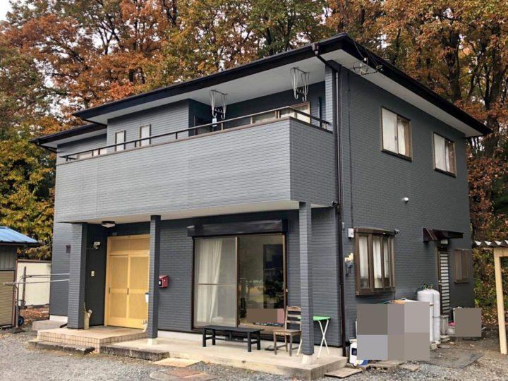 栃木県鹿沼市 U様邸 屋根塗装・外壁塗装工事