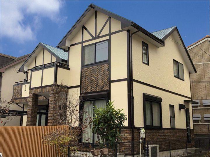 栃木県宇都宮市 A様邸 屋根塗装・外壁塗装工事