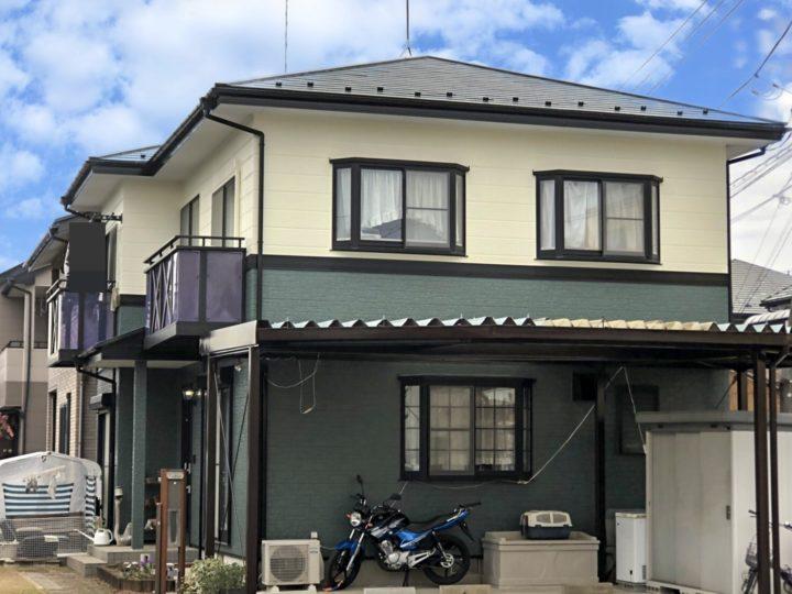 栃木県宇都宮市 I様邸 屋根塗装・外壁塗装工事