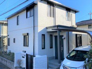 栃木県宇都宮市 Y様邸 屋根塗装・外壁塗装工事
