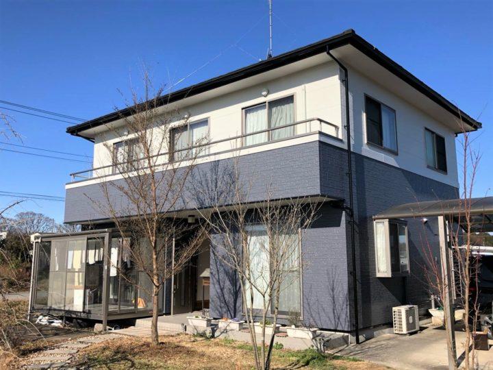 栃木県宇都宮市 N様邸 屋根カバー工事・外壁塗装工事
