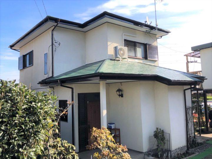 栃木県塩谷郡 S様邸 屋根塗装工事