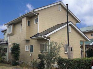 栃木県河内郡 H様邸 屋根塗装・外壁塗装