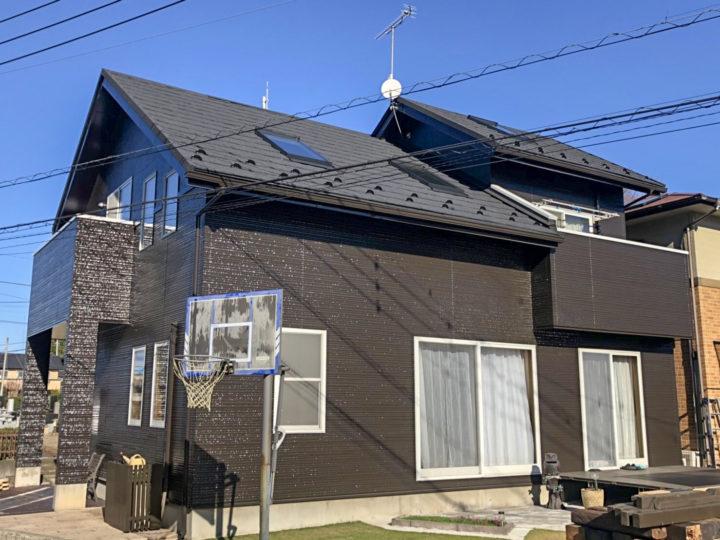 栃木県下野市 M様邸 屋根カバー工事・外壁塗装工事
