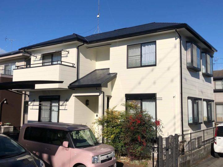 栃木県下都賀郡 M様邸 屋根外壁塗装工事