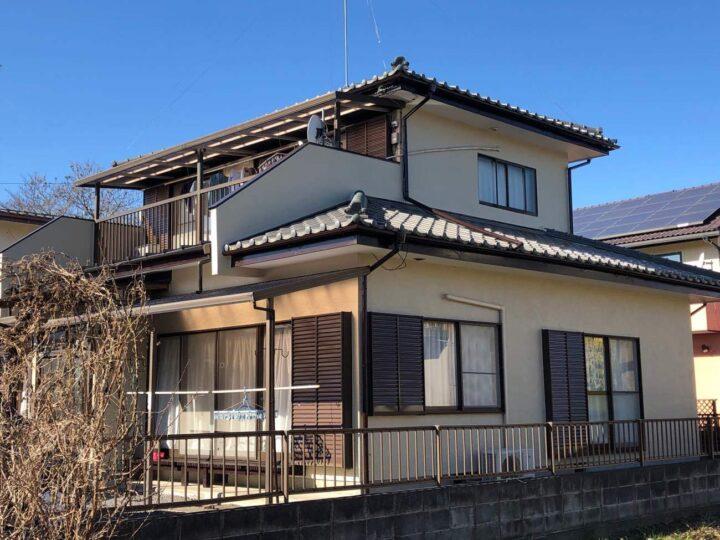 栃木県鹿沼市 Y様邸 外壁塗装工事