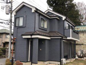 栃木県宇都宮市 U様邸 外壁塗装工事