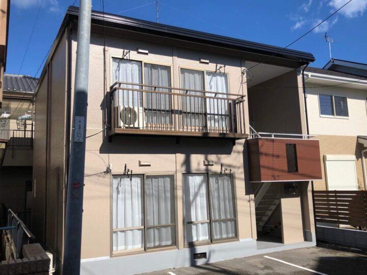 栃木県宇都宮市 M様アパート 屋根塗装・外壁塗装工事