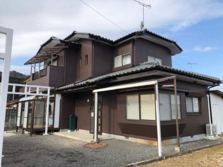 栃木県塩谷郡 K様邸 外壁塗装工事