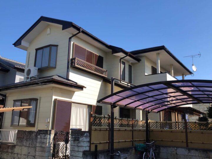 栃木県宇都宮市 M様邸 屋根塗装・外壁塗装