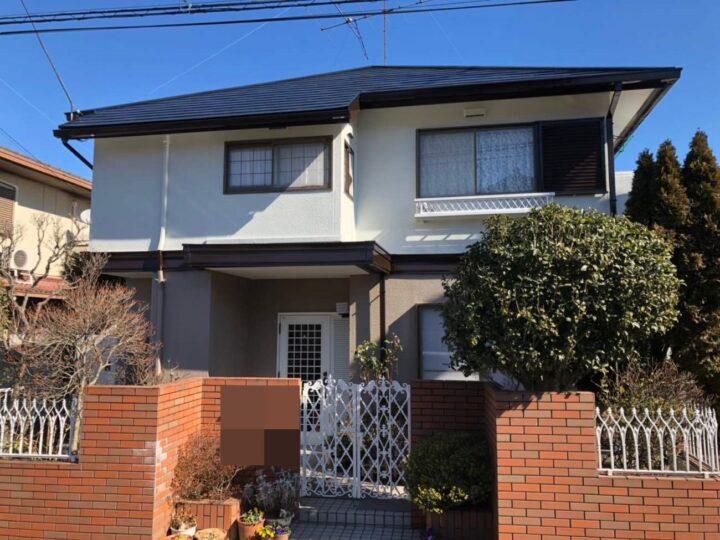 栃木県塩谷郡 A様邸 屋根塗装・煙突サイディング張替・外壁塗装工事