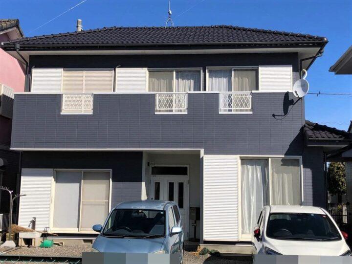 栃木県河内郡 K様邸 屋根塗装・外壁塗装
