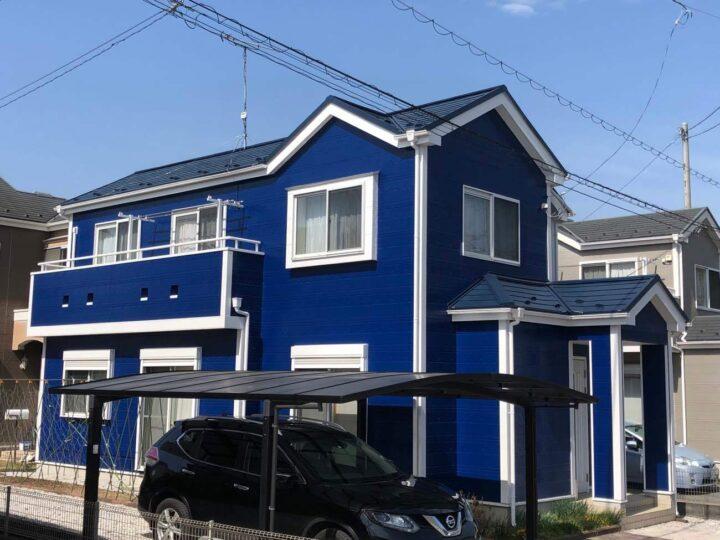 栃木県河内郡 T様邸 屋根カバー工法・外壁塗装工事