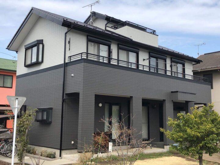 栃木県河内郡 N様邸 屋根塗装・外壁塗装工事