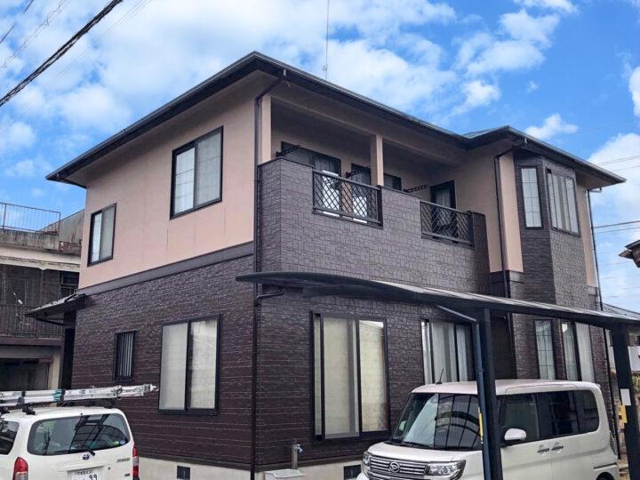 栃木県宇都宮市 I様邸 屋根塗装・外壁塗装