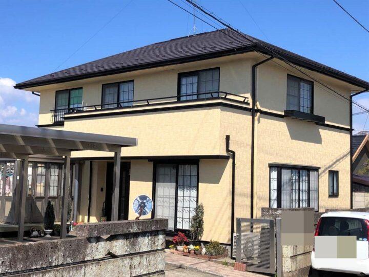 栃木県宇都宮市 S様邸 外壁塗装工事
