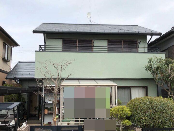 栃木県真岡市 S様邸 屋根塗装・外壁塗装
