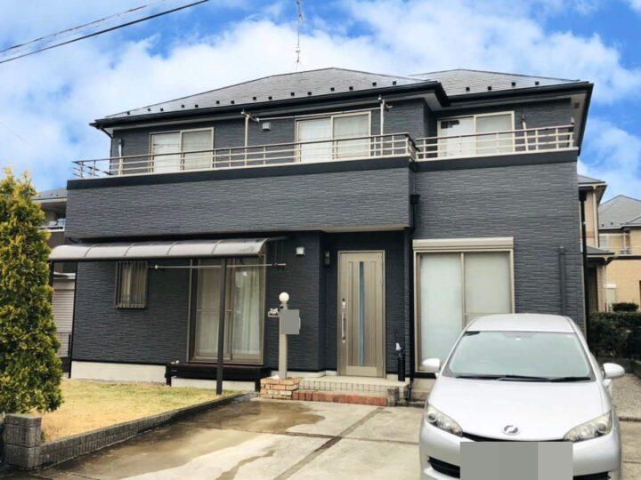 栃木県宇都宮市 F様邸 屋根塗装・外壁塗装工事