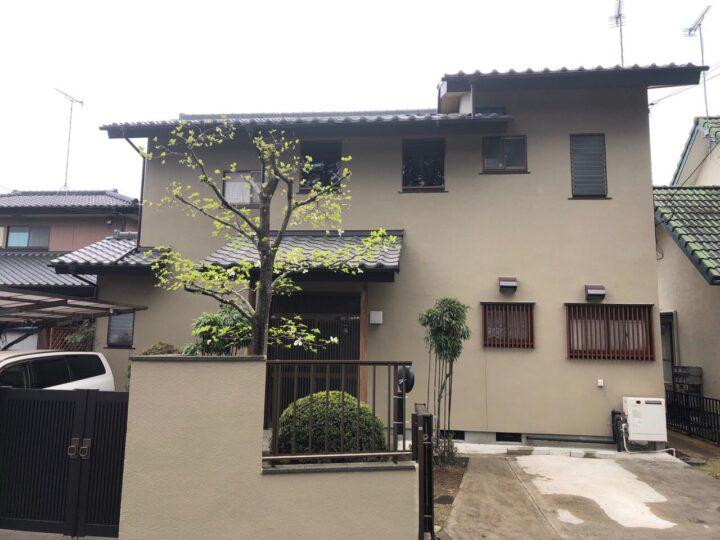 栃木県宇都宮市 N様邸 外壁塗装工事