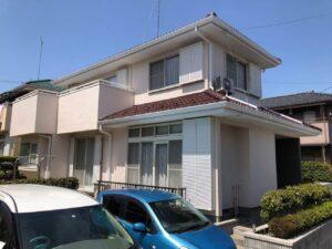 栃木県鹿沼市 C様邸 屋根塗装・外壁塗装工事