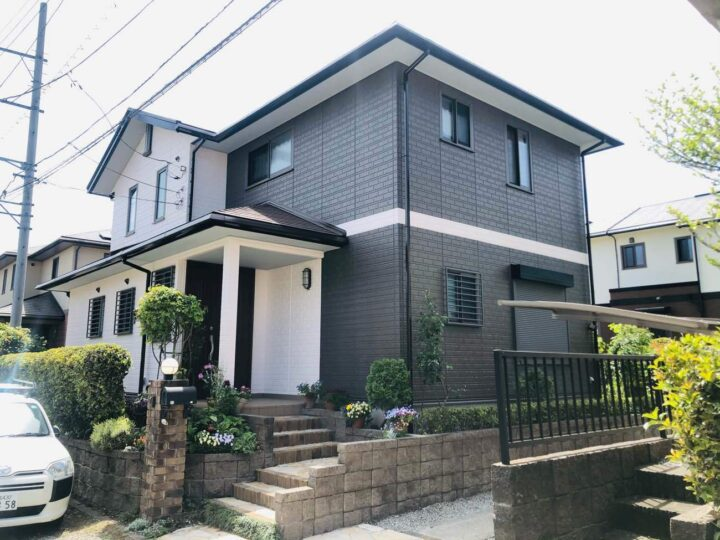 栃木県河内郡 K様邸 屋根塗装・外壁塗装工事