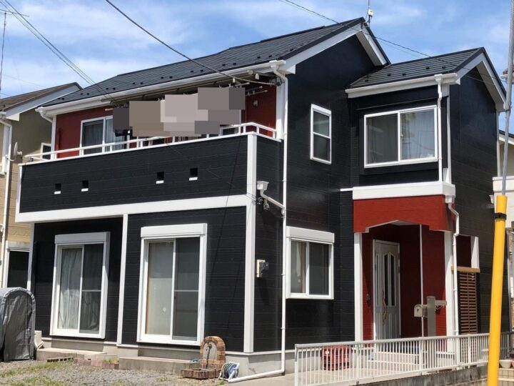 栃木県宇都宮市 K様邸 外壁塗装工事
