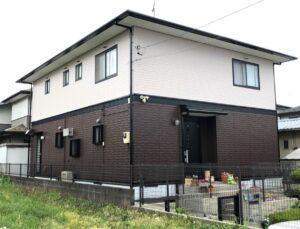 栃木県宇都宮市 K様邸 屋根塗装・外壁塗装工事