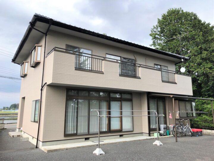 栃木県塩谷郡 N様邸 外壁塗装工事