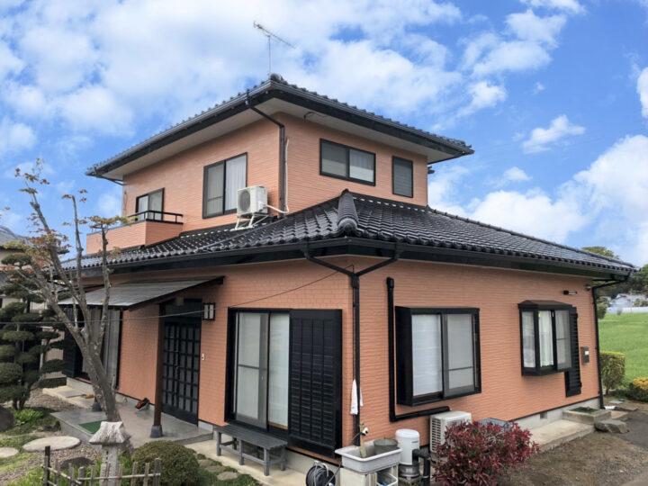 栃木県真岡市 N様邸 外壁塗装工事
