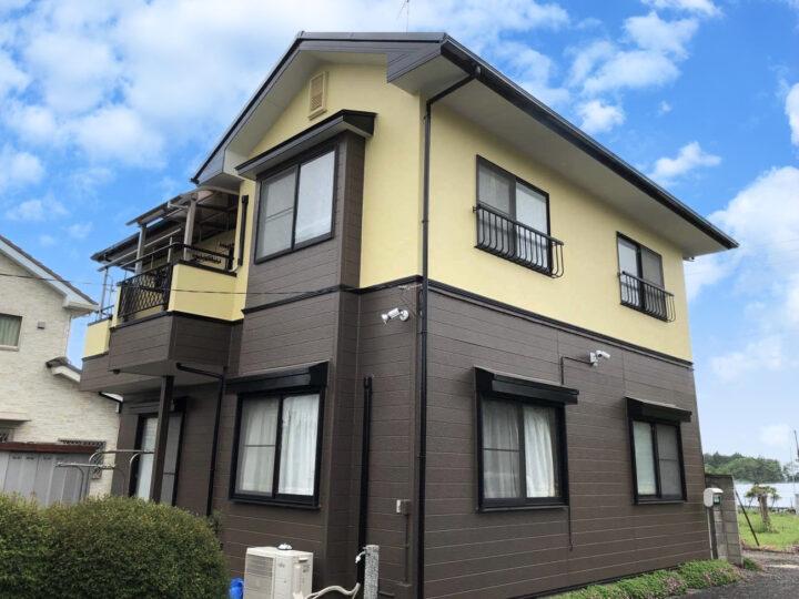栃木県芳賀郡 M様邸 外壁塗装工事