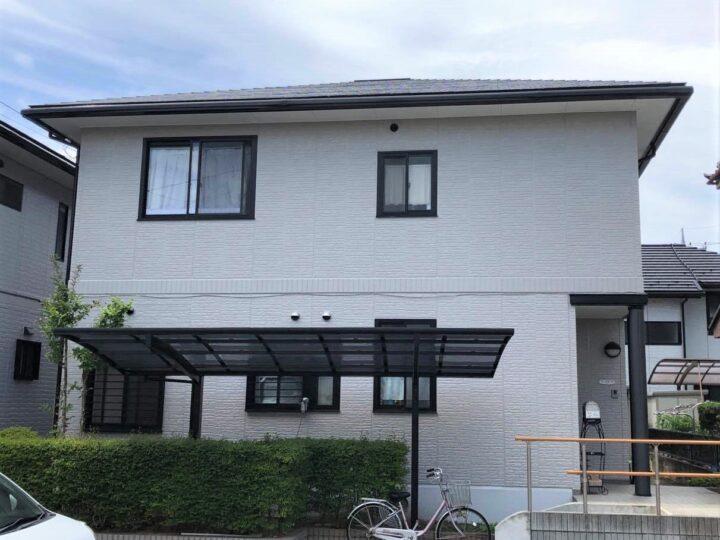 栃木県下野市 I様邸 屋根塗装・外壁塗装工事