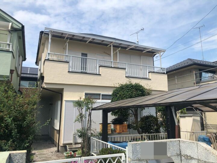 栃木県河内郡 A様邸 屋根塗装・外壁塗装工事