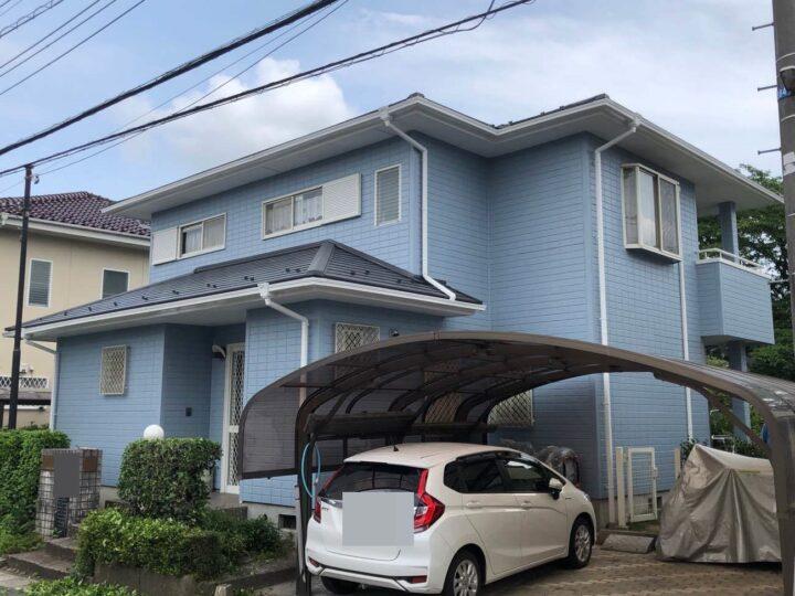 栃木県下野市 S様邸 外壁塗装工事