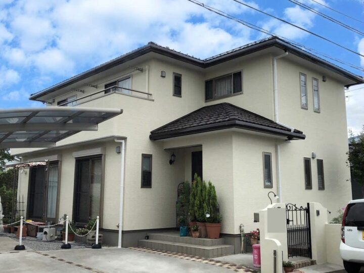 栃木県栃木市 U様邸 外壁塗装工事