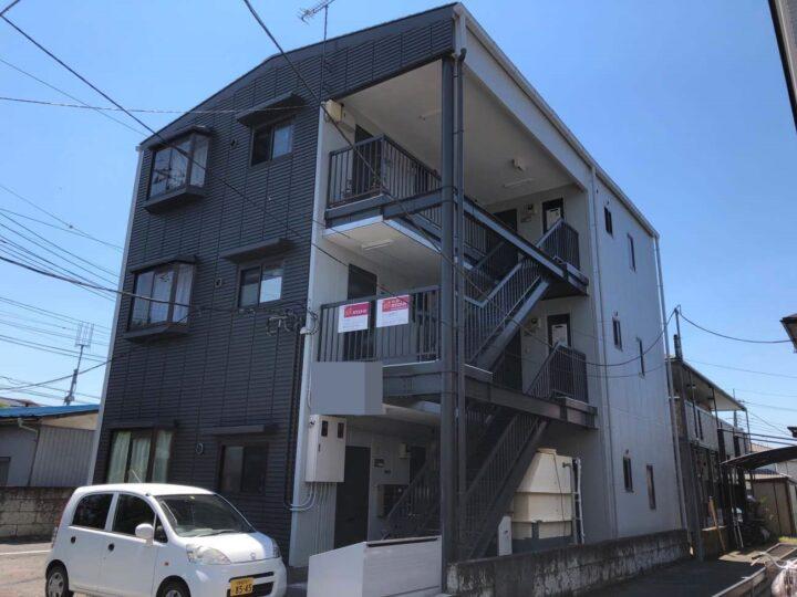 栃木県宇都宮市 H様邸アパート 屋根塗装・外壁塗装工事