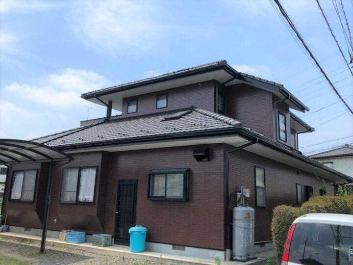 栃木県鹿沼市 A様邸 外壁塗装工事