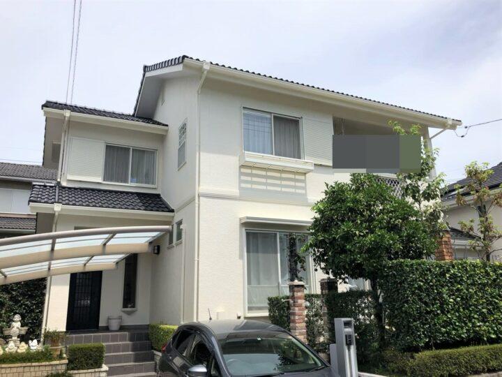 栃木県宇都宮市 S様邸 屋根塗装・外壁塗装工事