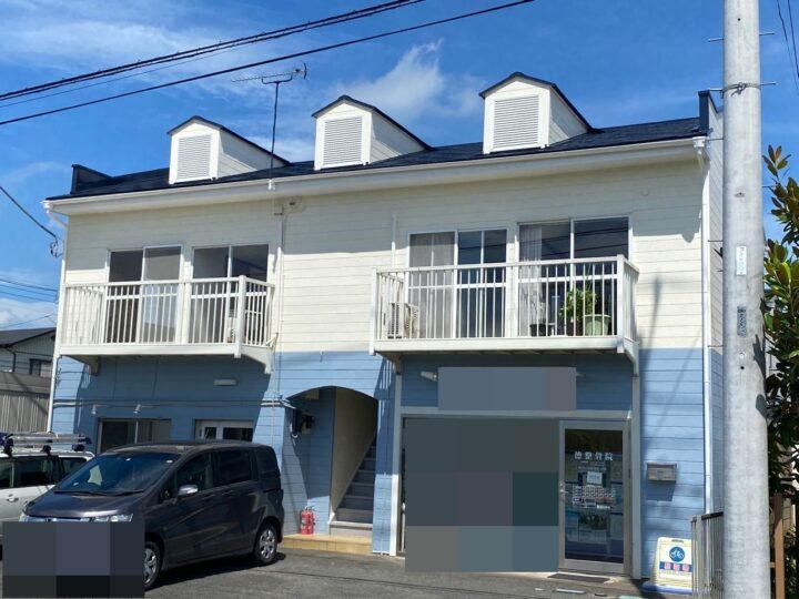 栃木県塩谷郡 アパート屋根塗装・外壁塗装工事