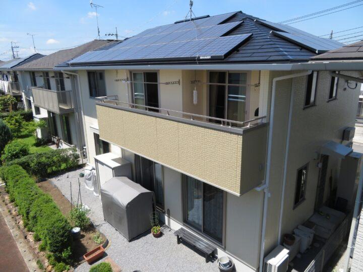 栃木県宇都宮市 N様邸 屋根塗装・外壁塗装工事
