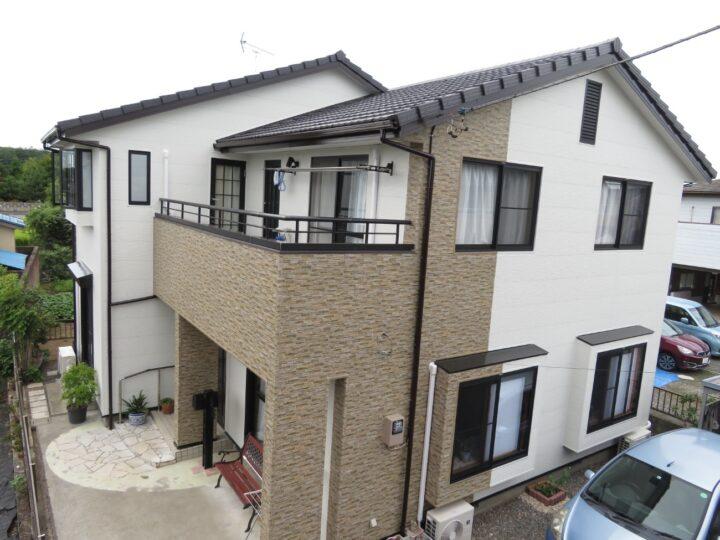 栃木県宇都宮市 K様邸 屋根塗装・外壁カバー工事