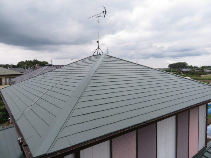栃木県河内郡 T様邸 屋根塗装工事