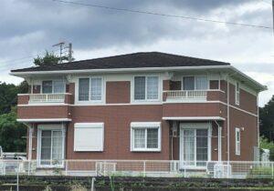 栃木県日光市 アパート外壁塗装工事