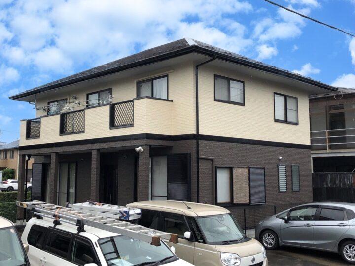 栃木県宇都宮市 屋根塗装・外壁塗装工事